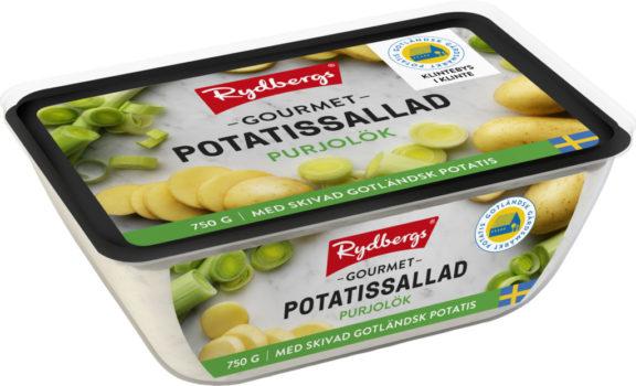 Potatissallad - Purjolök